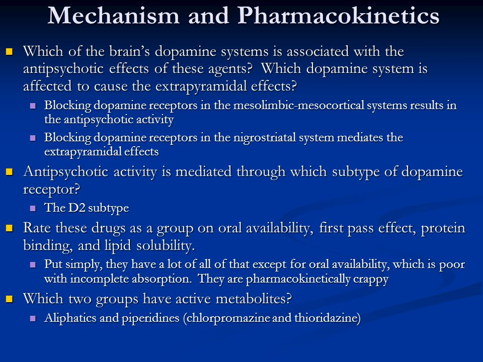 Mechanism and Pharmacokinetics