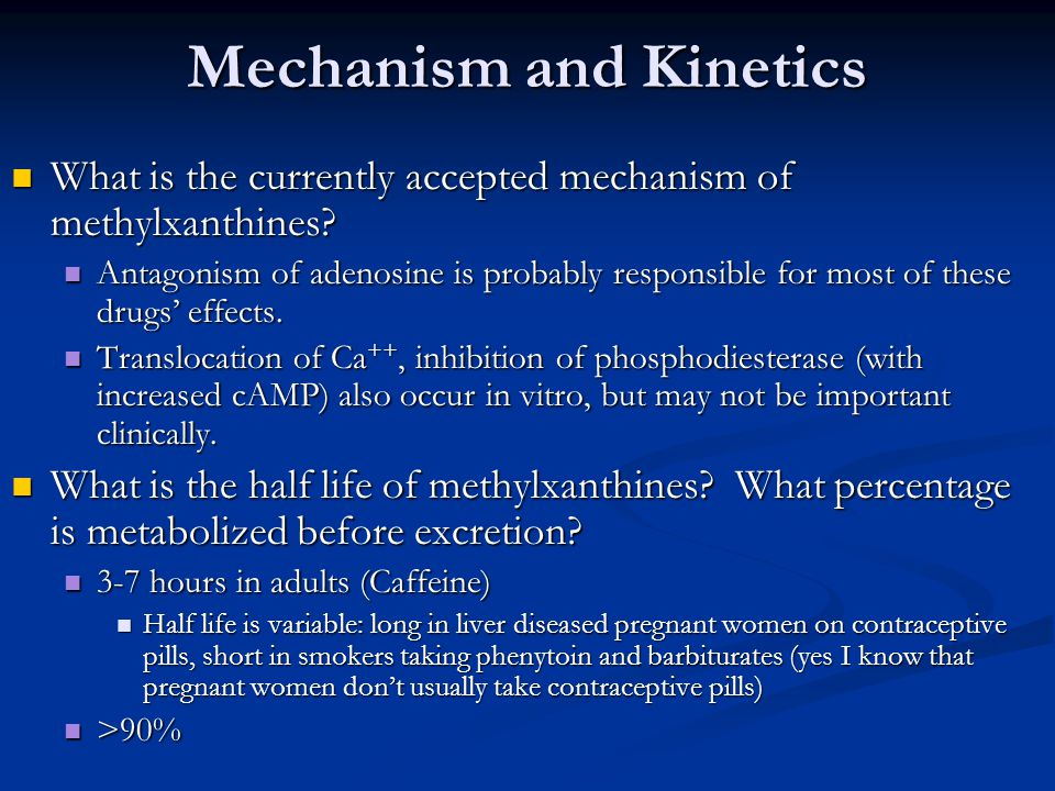 Mechanism and Kinetics