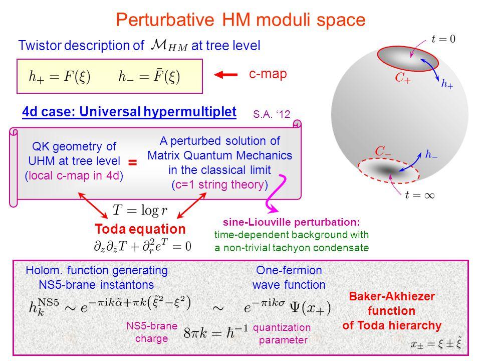 sine-Liouville perturbation: Baker-Akhiezer function