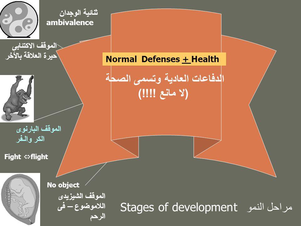 الدفاعات العادية وتسمى الصحة