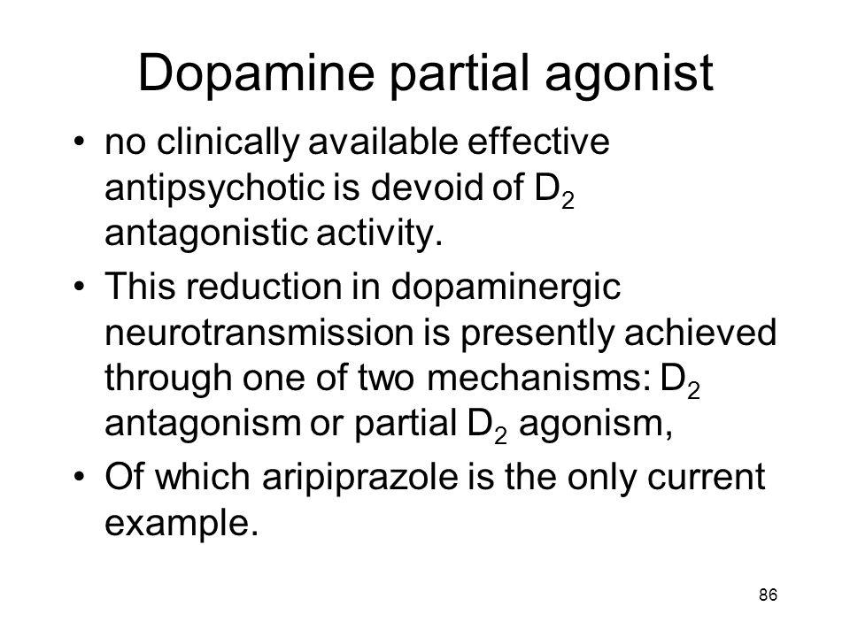 Dopamine partial agonist