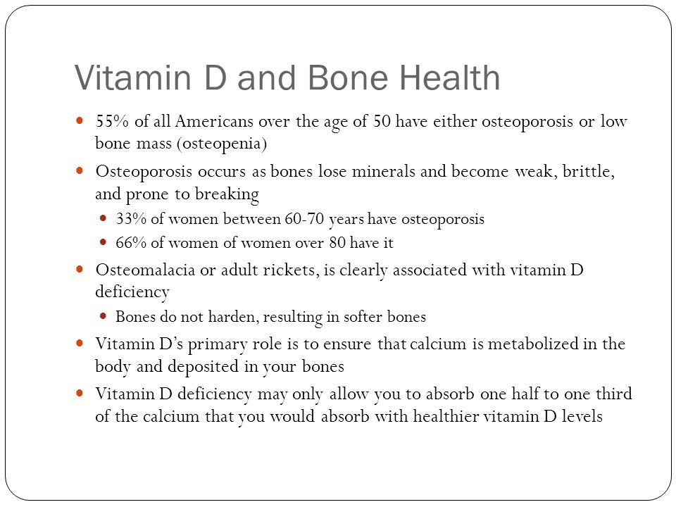 Vitamin D and Bone Health