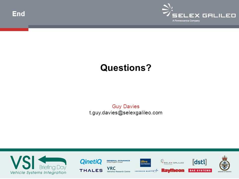 End Questions Guy Davies t.guy.davies@selexgalileo.com