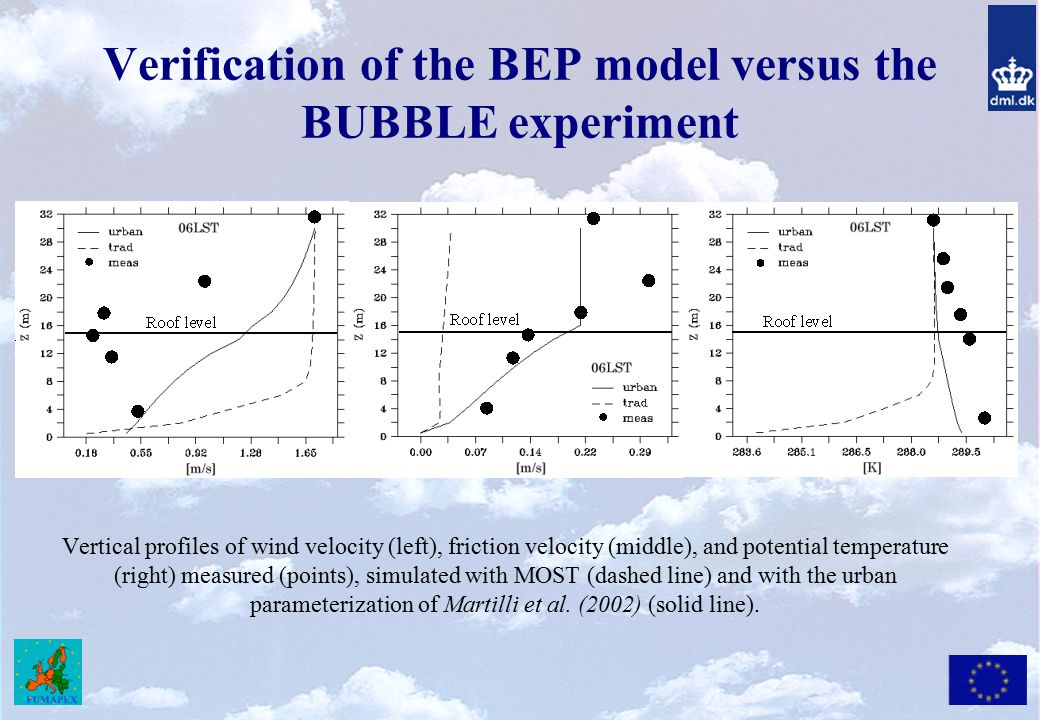 Verification of the BEP model versus the BUBBLE experiment