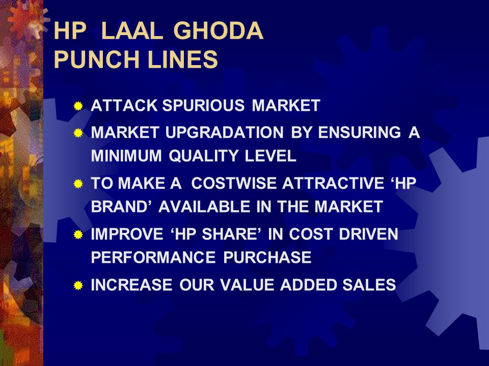 HP LAAL GHODA PUNCH LINES