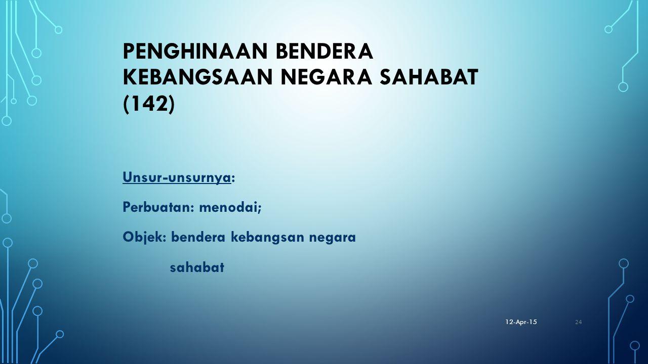PENGHINAAN BENDERA KEBANGSAAN NEGARA SAHABAT (142)