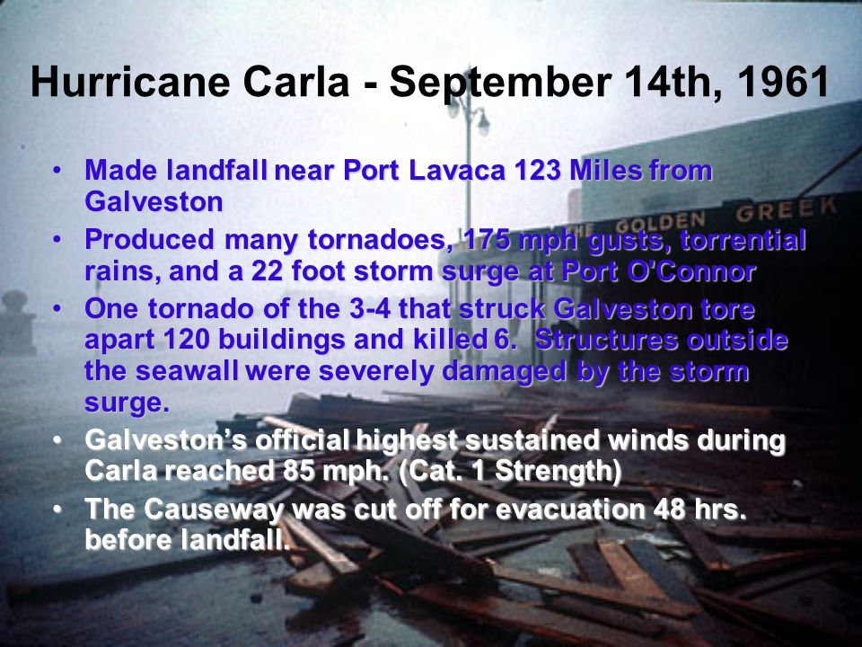 Hurricane Carla - September 14th, 1961