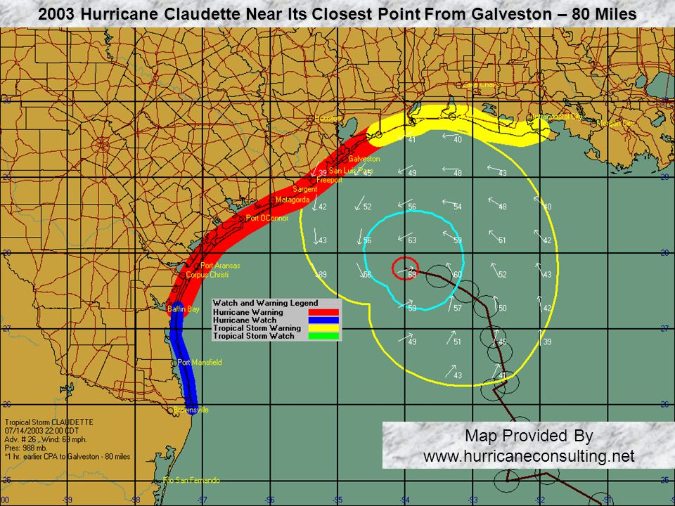 Map Provided By www.hurricaneconsulting.net