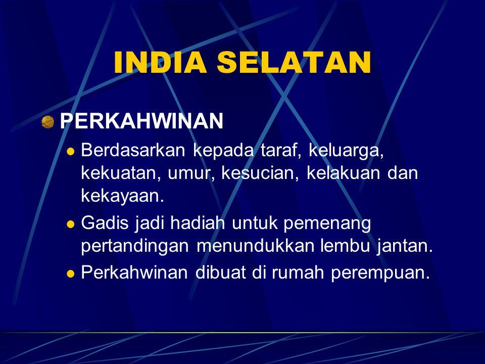 INDIA SELATAN PERKAHWINAN