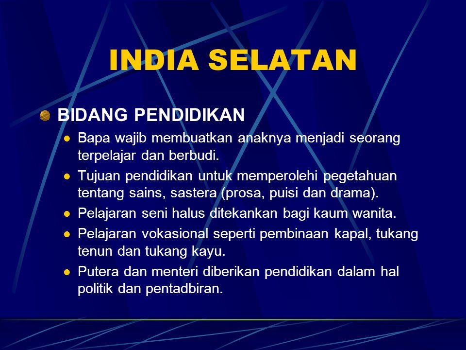 INDIA SELATAN BIDANG PENDIDIKAN