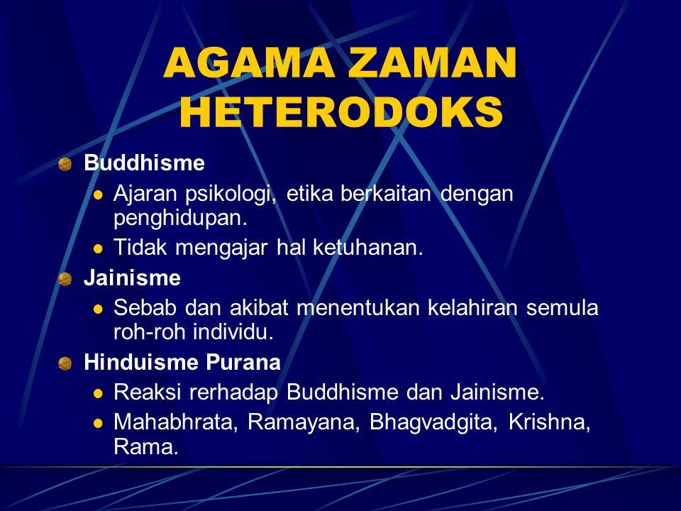 AGAMA ZAMAN HETERODOKS