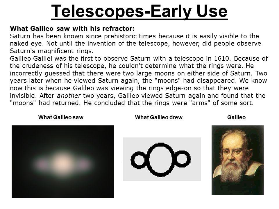 Telescopes-Early Use