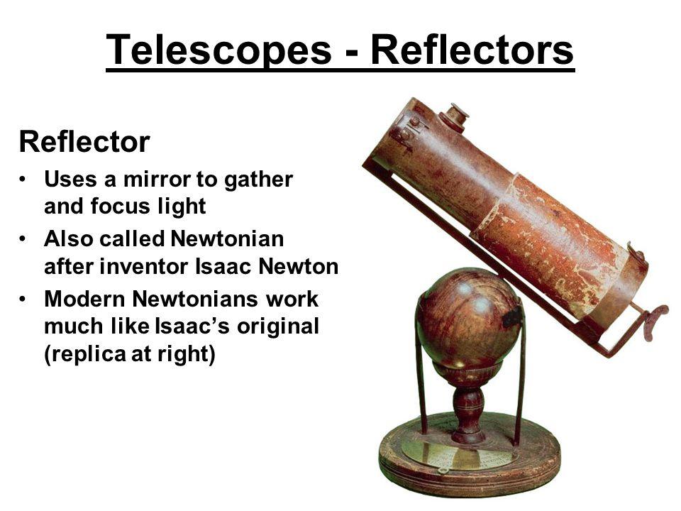 Telescopes - Reflectors