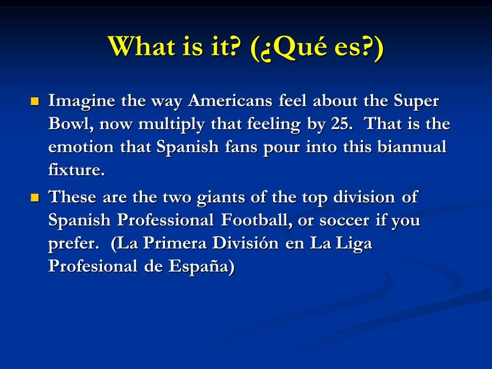 What is it (¿Qué es )