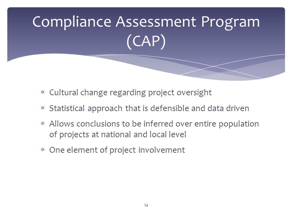 Compliance Assessment Program (CAP)