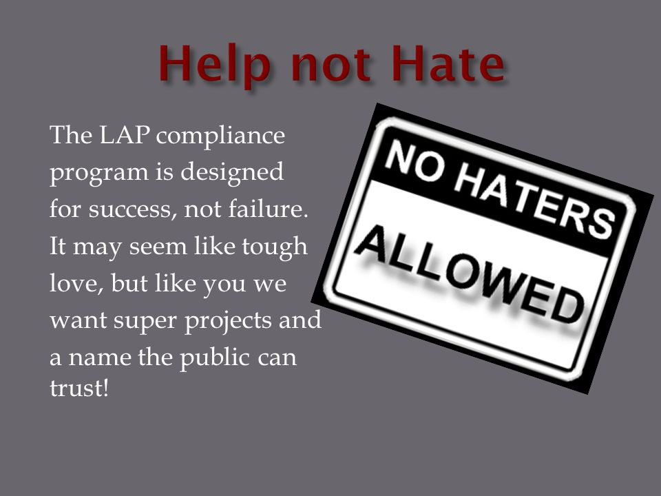 Help not Hate