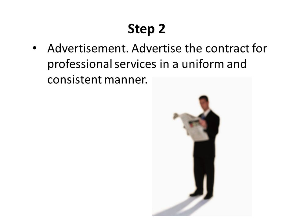 Step 2 Advertisement.