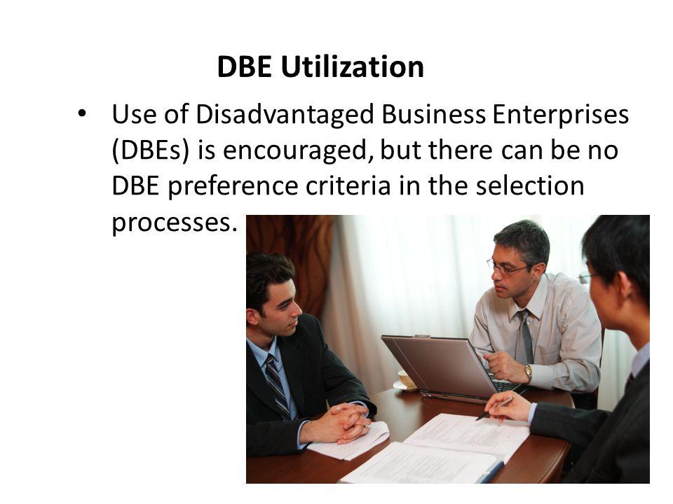DBE Utilization