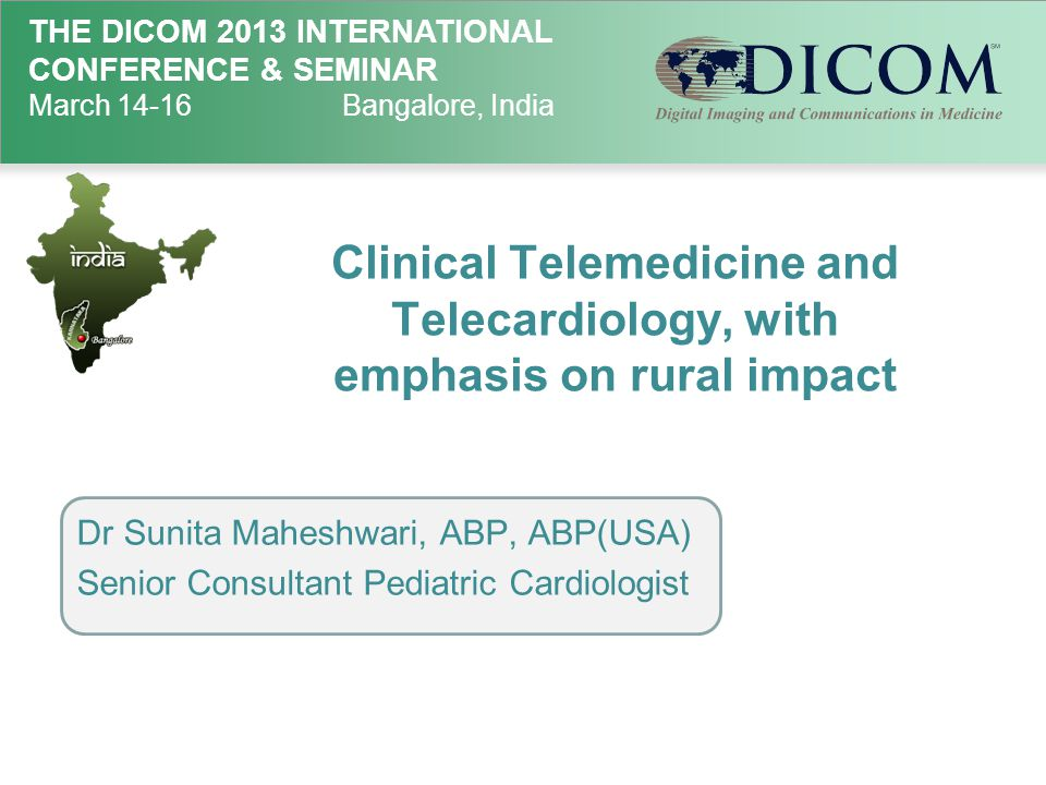 Clinical Telemedicine and Telecardiology, with emphasis on rural impact