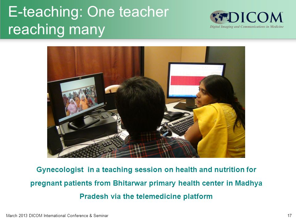 E-teaching: One teacher reaching many