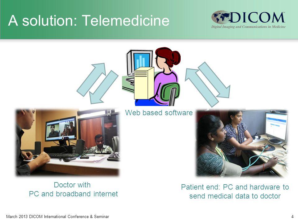 A solution: Telemedicine
