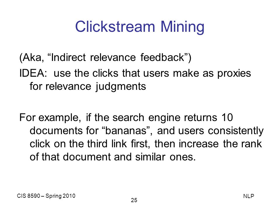 Clickstream Mining