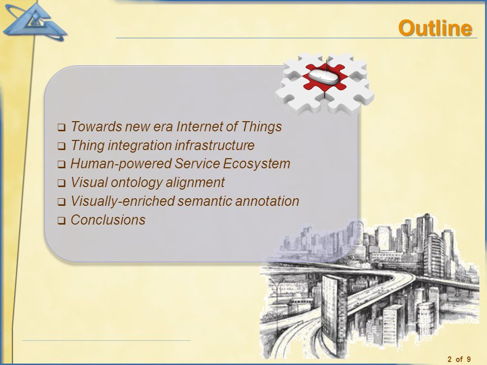 Outline Towards new era Internet of Things