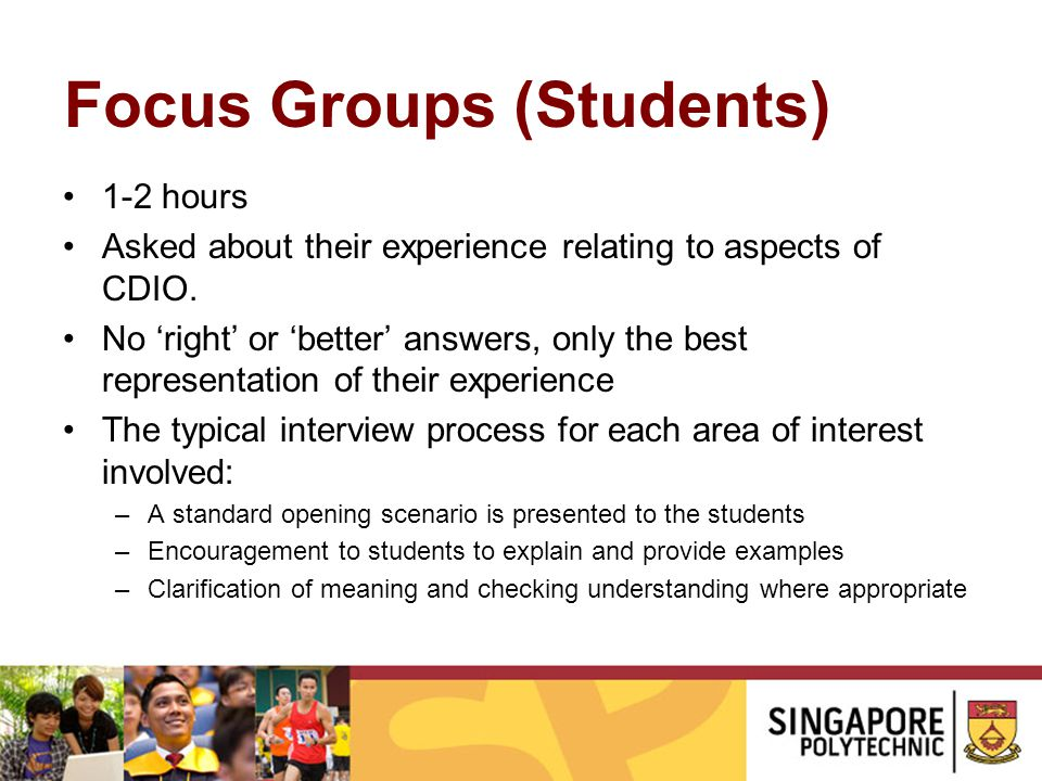Focus Groups (Students)