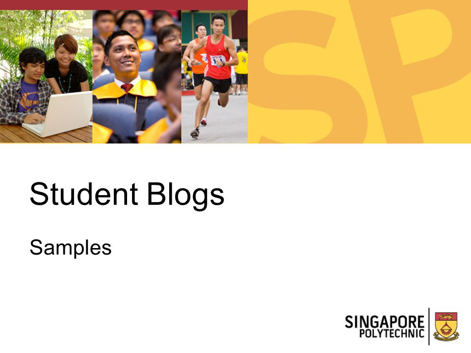 Student Blogs Samples