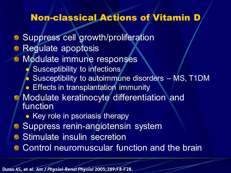 Non-classical Actions of Vitamin D