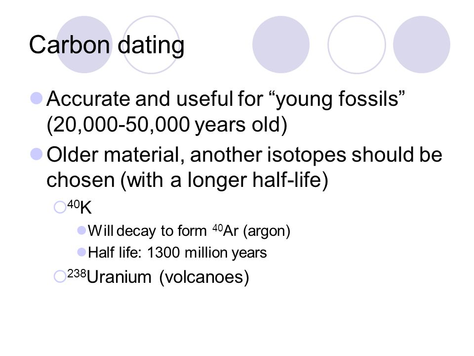 carbon dating accurate Modern radiocarbon dating uses tree-ring chronologies to produce the calibration curve because the radiocarbon to stable carbon ratio in the atmosphere has fluctuated over time, there are wiggles in the calibration curve.
