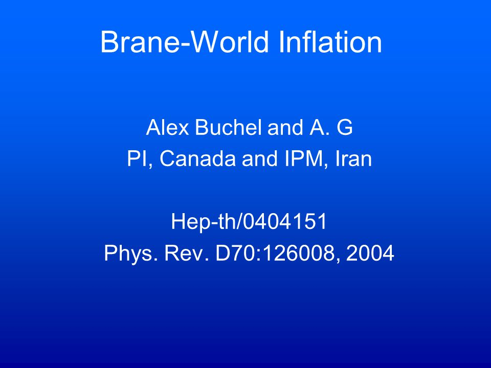 Brane-World Inflation