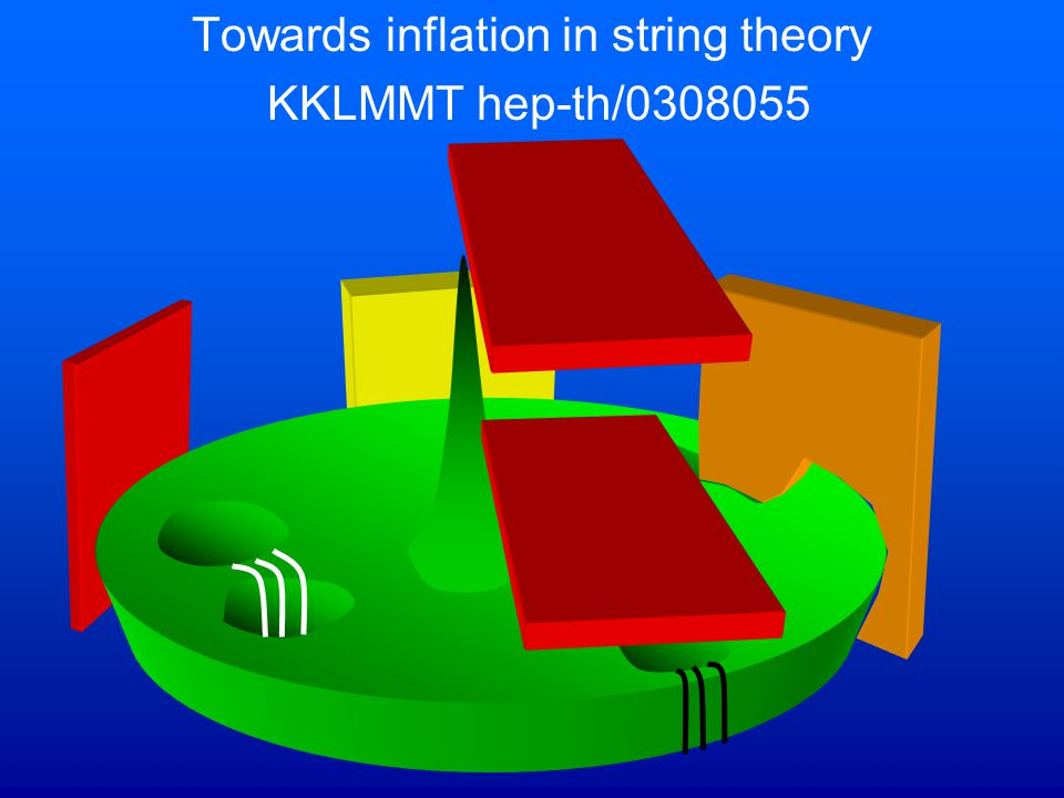 Towards inflation in string theory