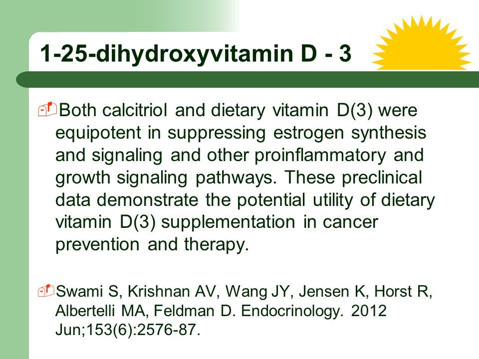 1-25-dihydroxyvitamin D - 3