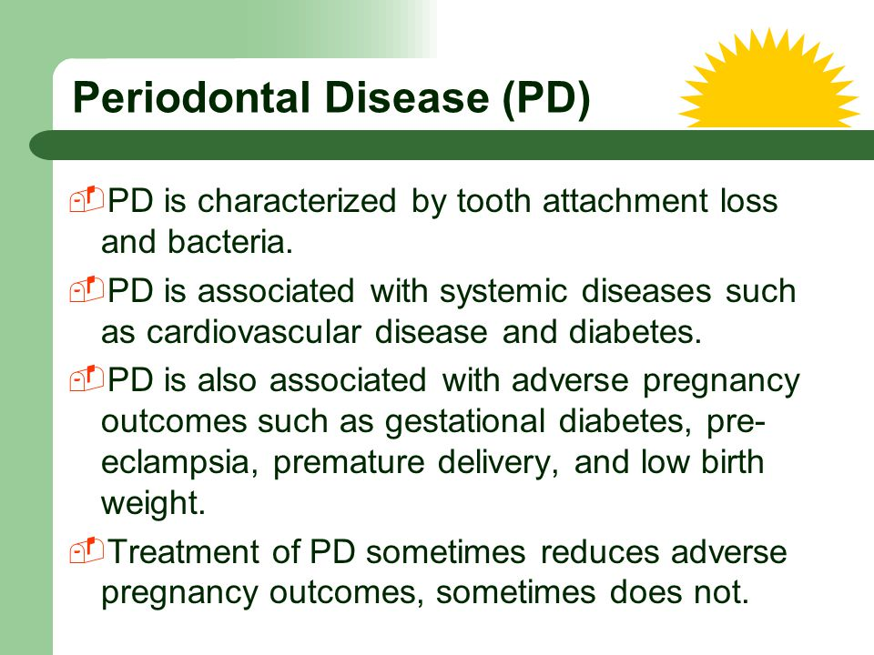 Periodontal Disease (PD)