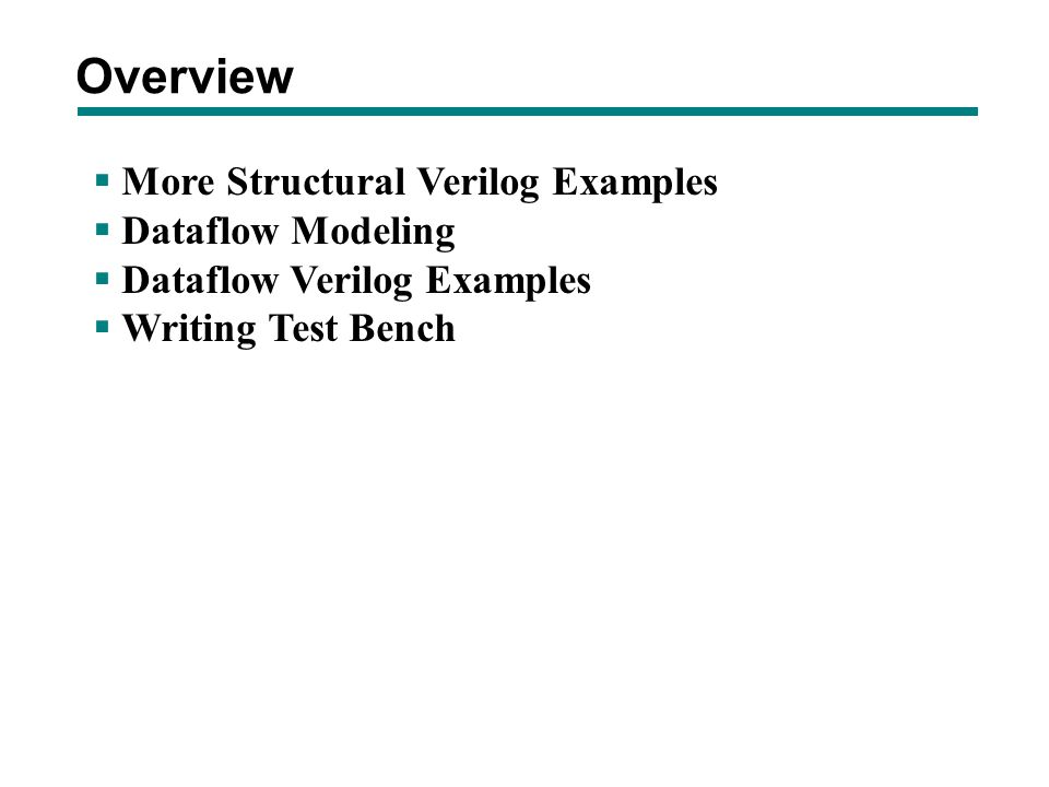 test bench in verilog exles 28 images vhdl tutorial