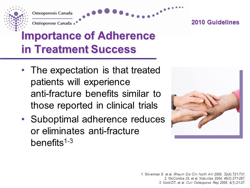 Importance of Adherence in Treatment Success