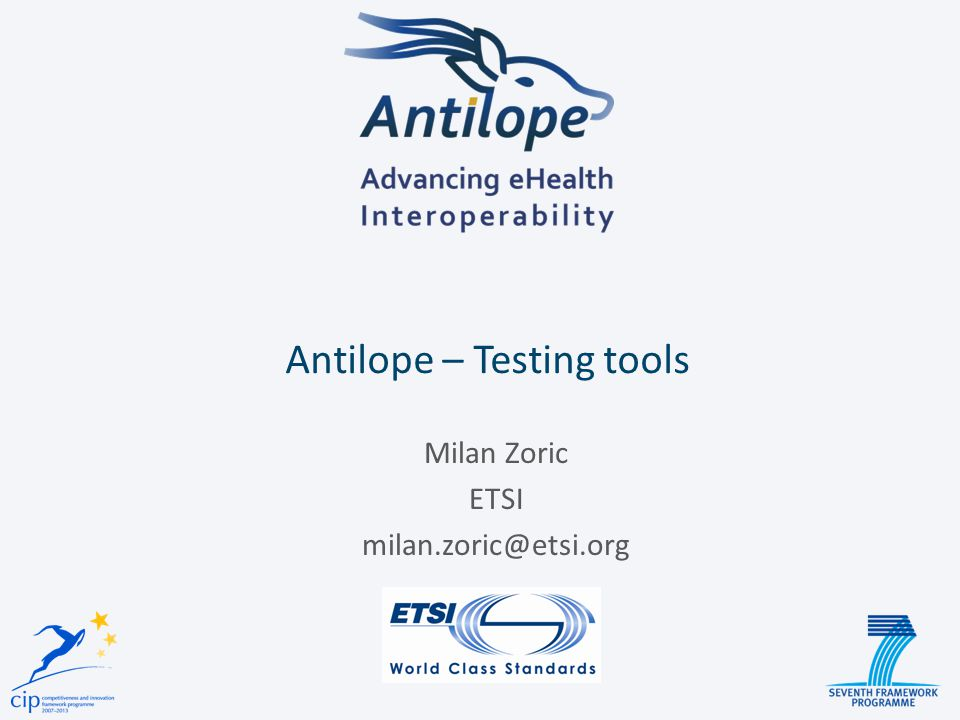 Antilope – Testing tools