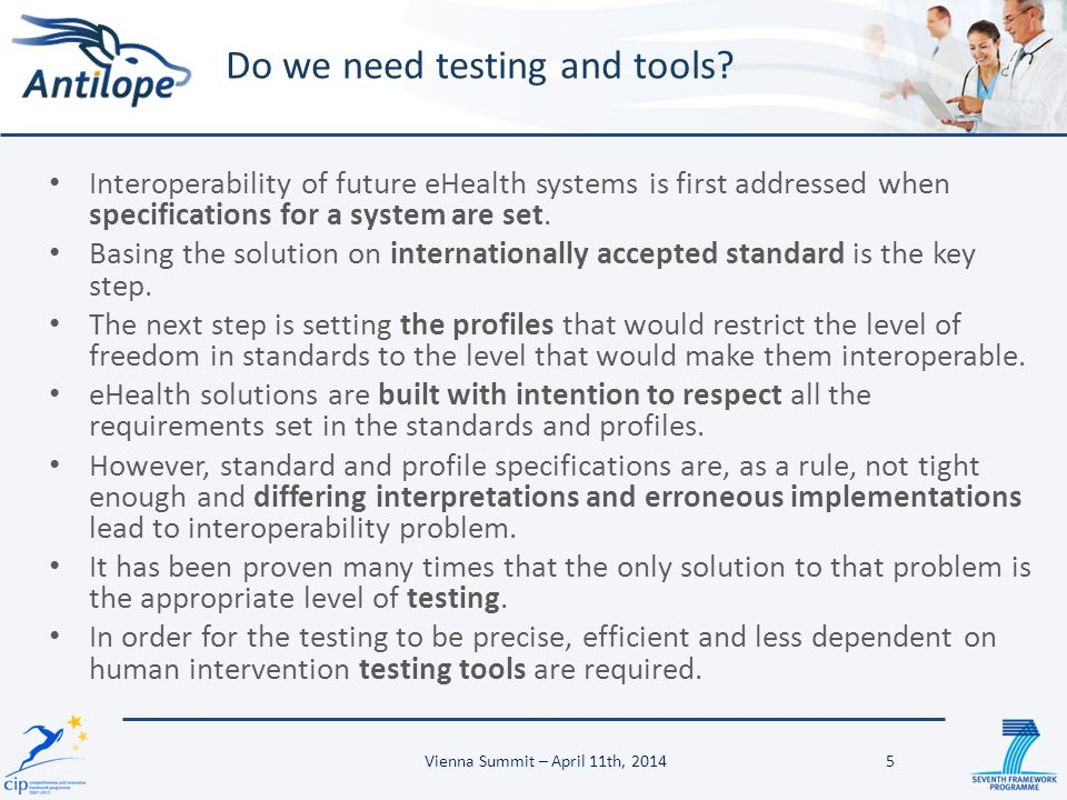Do we need testing and tools