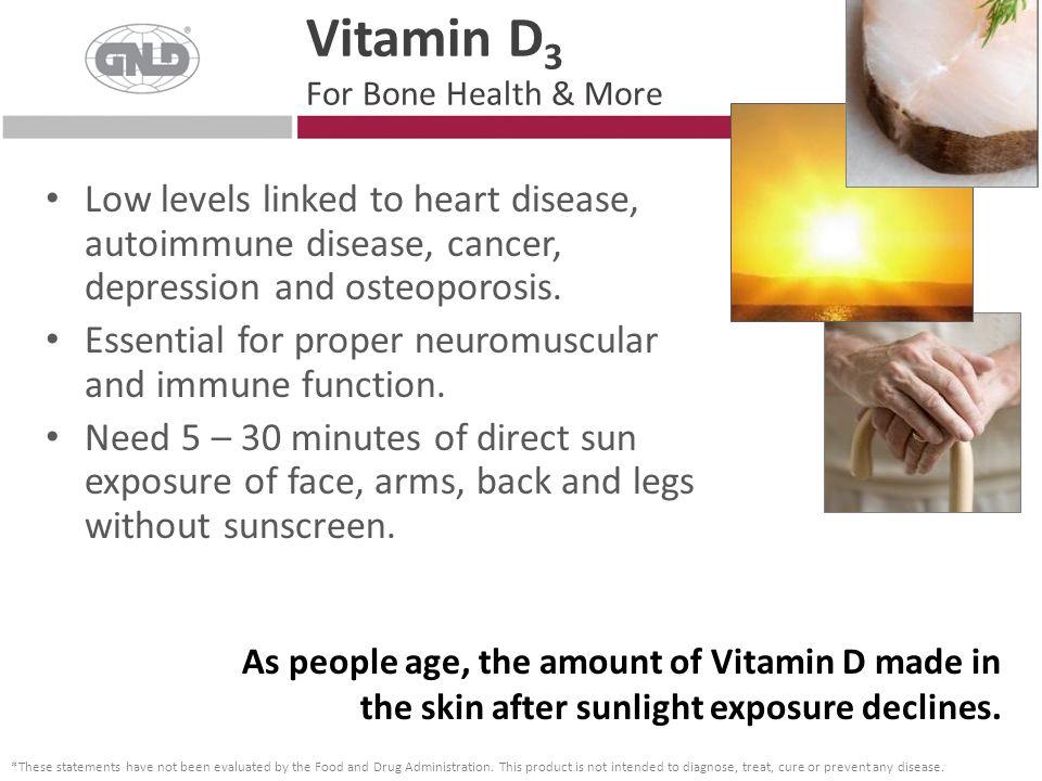 Vitamin D3 For Bone Health & More