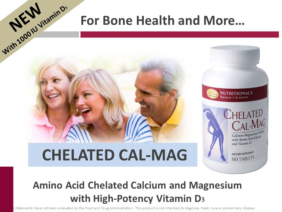 For Bone Health and More…