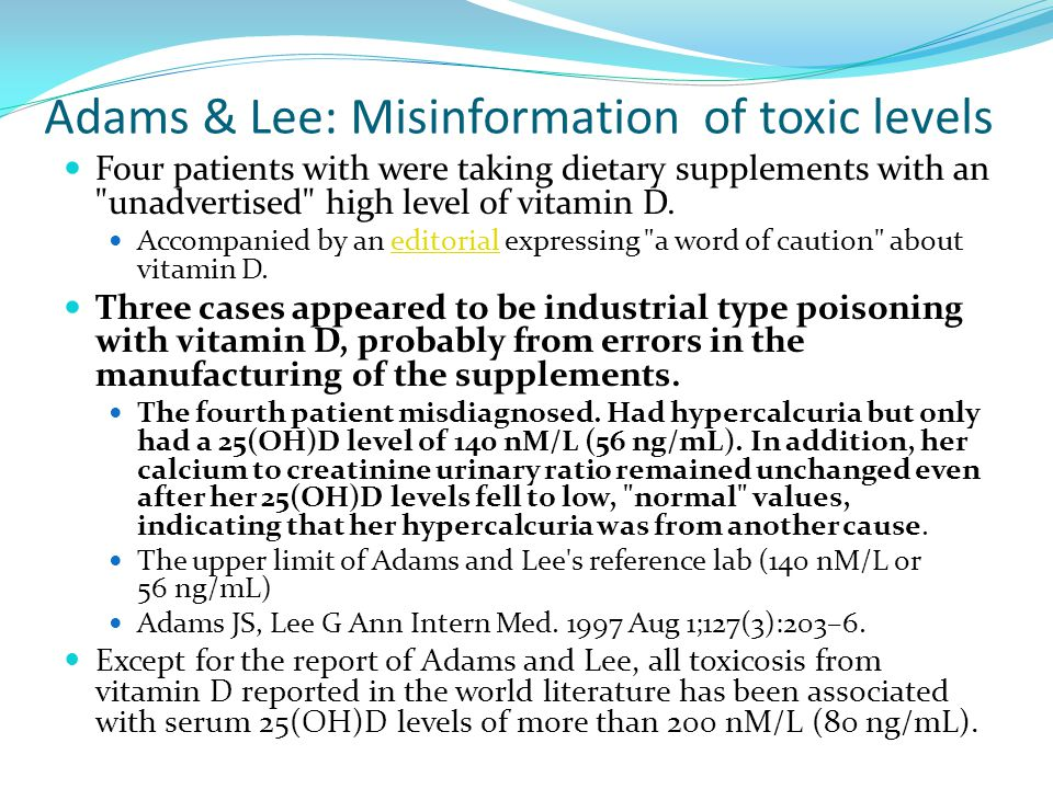 Adams & Lee: Misinformation of toxic levels