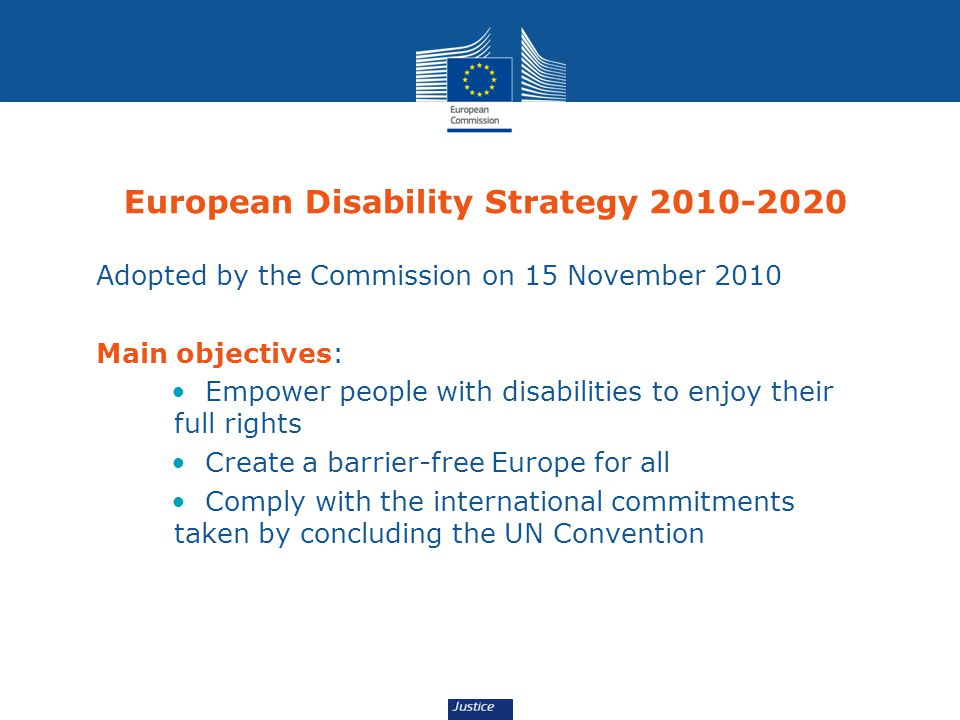 European Disability Strategy 2010-2020
