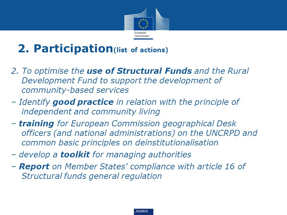 2. Participation(list of actions)