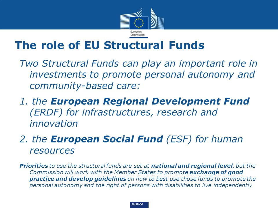 The role of EU Structural Funds