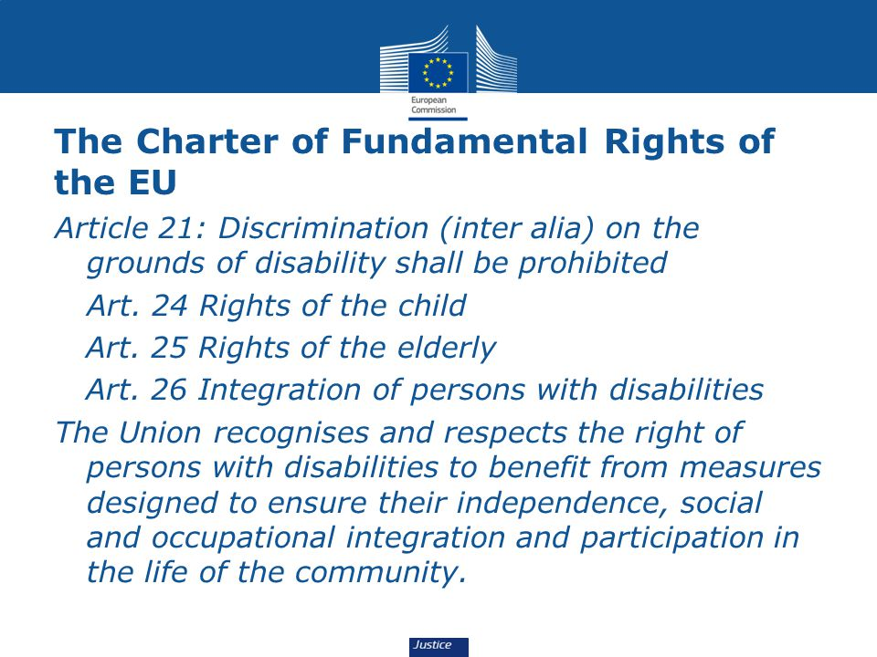 The Charter of Fundamental Rights of the EU