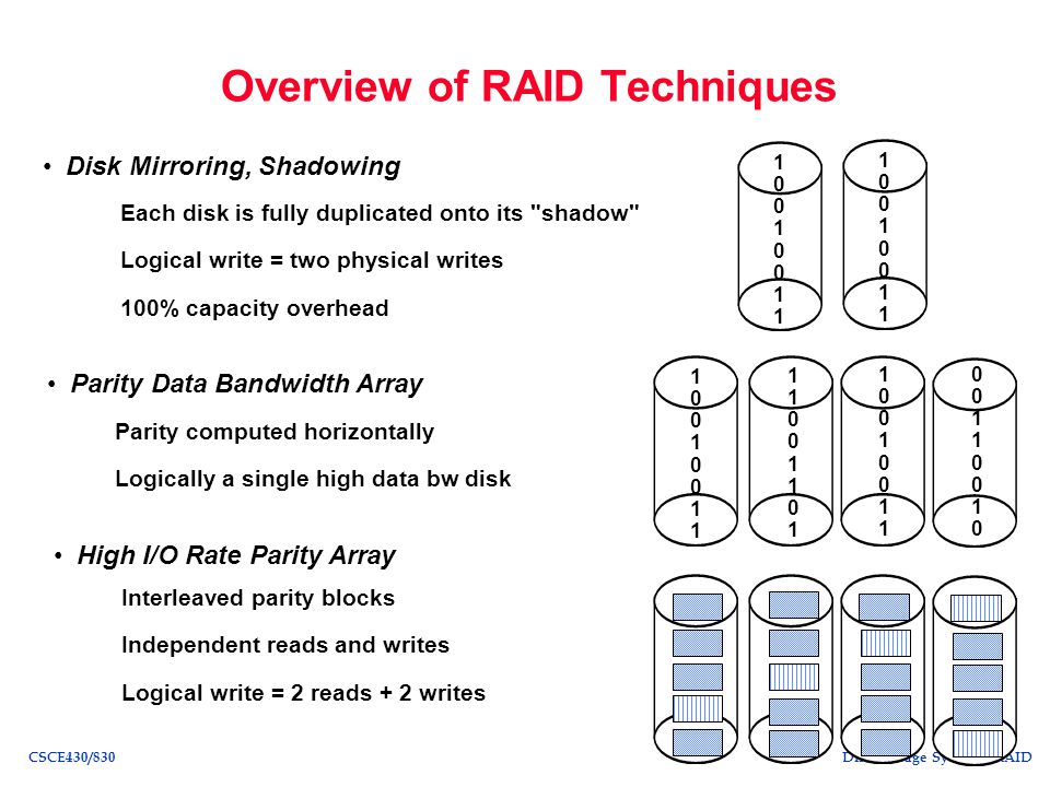 Overview of RAID Techniques