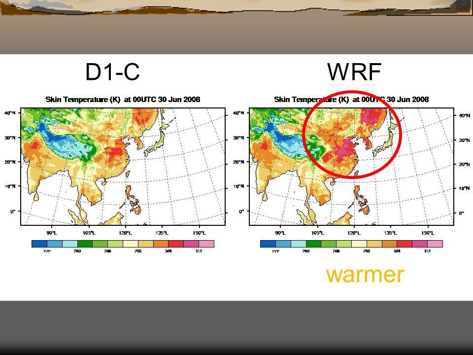 D1-C WRF warmer