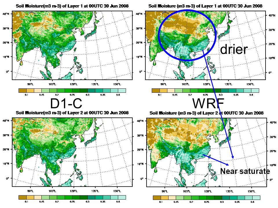 drier D1-C WRF Near saturate
