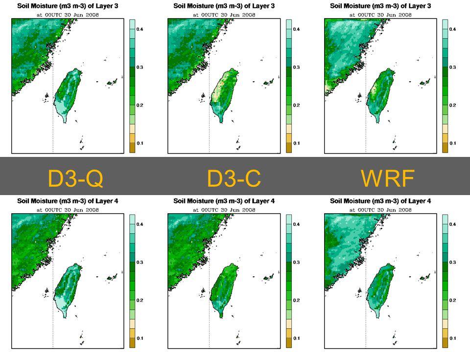 D3-Q D3-C WRF
